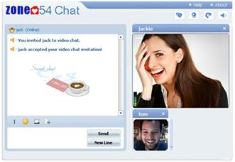 Chat and dating websites